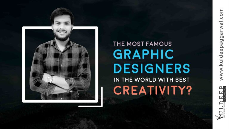 The most Famous Graphic Designers in the world with best creativity
