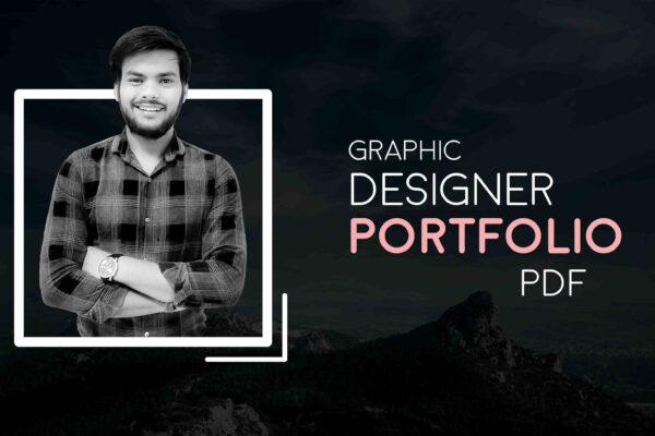 Graphic Designer Portfolio PDF in 2021