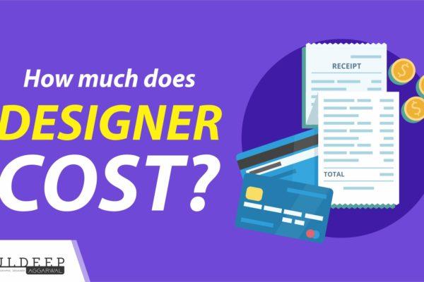 How Much Does Designer Cost | Kuldeep Designer | Crowd | 99Designs?