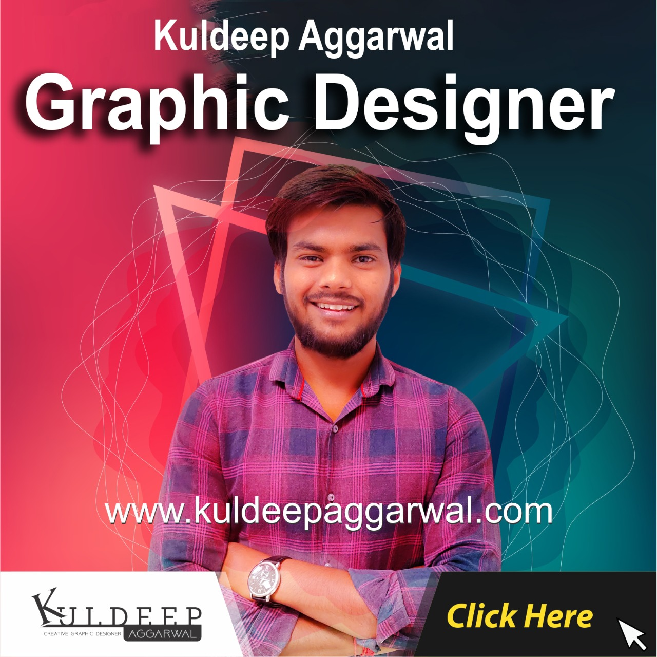 Kuldeep Aggarwal Is Best Creative Graphic Designer In Delhi